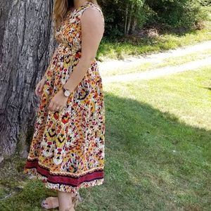 Vibrant ASOS midi dress